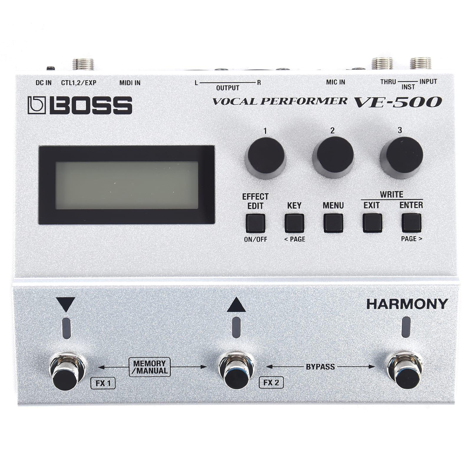 Boss VE-500 Vocal Performer Pedal