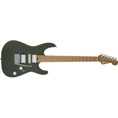Charvel DK24 2PT HSH, Matte Army Drab for sale