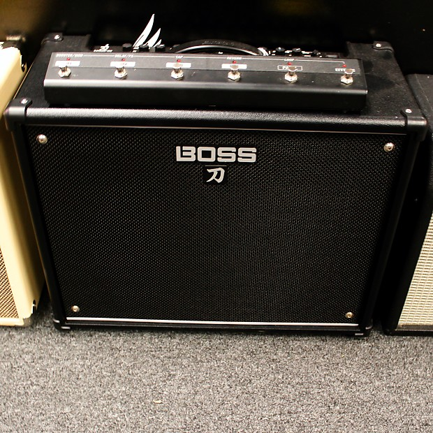boss ktn 100 katana 100w 1x12 guitar combo amp w reverb. Black Bedroom Furniture Sets. Home Design Ideas