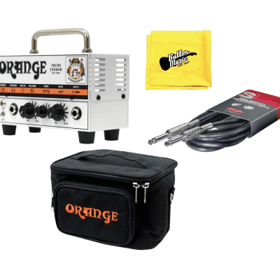 Orange MT20 20 Watt Micro Terror Amplifier with Gig Bag, Cable, and Polish Cloth