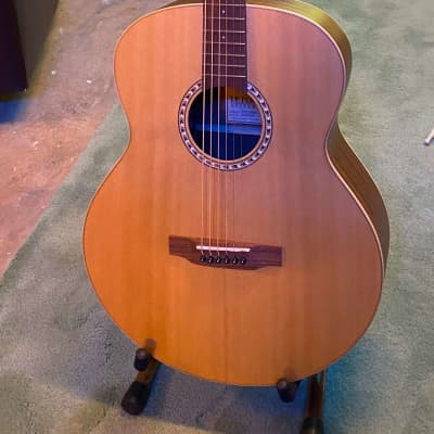 Teton Baritone Acoustic Guitar - Natural/Satin