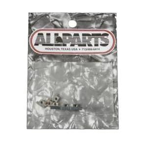 Allparts Old Style Bridge Saddles Nickel Bp 0535-001 for sale