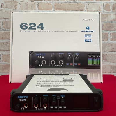MOTU 624 Thunderbolt/USB3/AVB Audio Interface