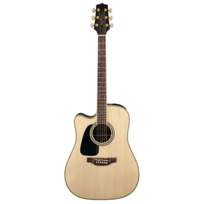 Takamine GD51CE LH NAT G50 Series Dreadnought Cutaway Acoustic/Electric Guitar (Left-Handed) Natural Gloss
