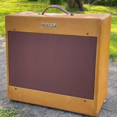 """Fender Bandmaster 5C7 Wide Panel 25-Watt 1x15"""" Guitar Combo 1953 - 1954"""