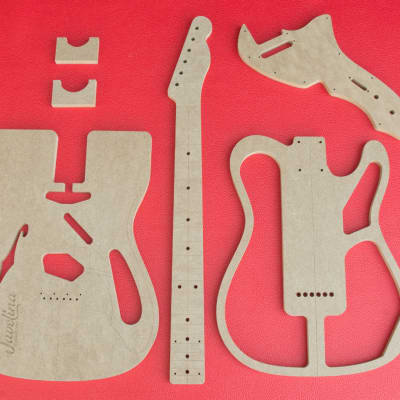 Thinline  Telecaster Set with Neck Guitar Router Templates CNC Luthier Tools Fender - FREE SHIPPING