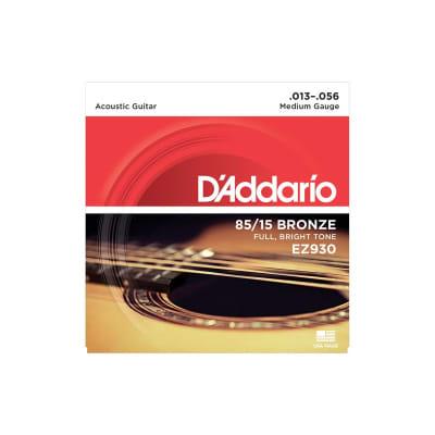 D´Addario EZ930 Bronze Acoustic Strings 13-56