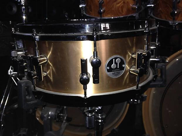 sonor artist bronze top of the line snare drum as 12 1406 brb reverb. Black Bedroom Furniture Sets. Home Design Ideas