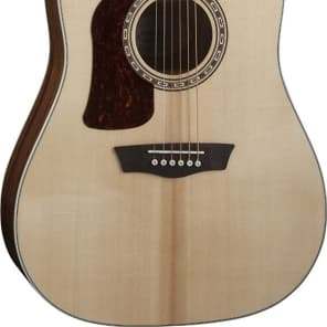 Washburn HD10SLH Heritage Series LEFT-HANDED Dreadnought Acoustic Guitar for sale
