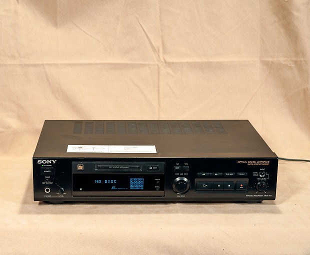 Sony MDS-302 Minidisc Player Recorder Deck Stereo SALE!