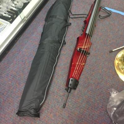 Geneva Upright Electric Bass-Stick Bass-w/Gig Bag-NEW-Free Shop Setup Included!