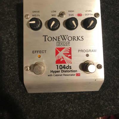 Korg Toneworks 104ds Hyper Distortion 90s Silver for sale