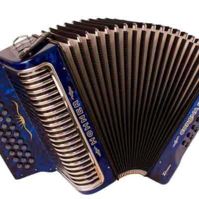 Hohner CXGB Corona II Xtreme GCF, Dark Blue