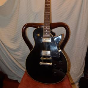 galveston electric guitar black for sale