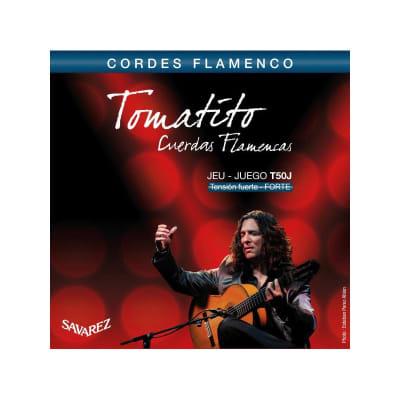 Savarez Tomatito T50J Flamenco Hard Tension Guitar Strings