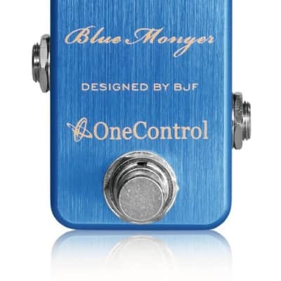 One Control  Dimension Blue Monger BJF Series FX  |  Modulation Pedal for sale