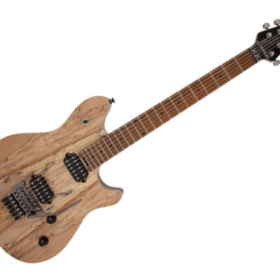 EVH Wolfgang WG Standard Exotic Spalted Maple Electric Guitar - Baked Maple/Natural - 5107002510