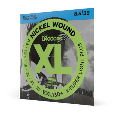 D'Addario Nickel Wound Extra Light 08-38
