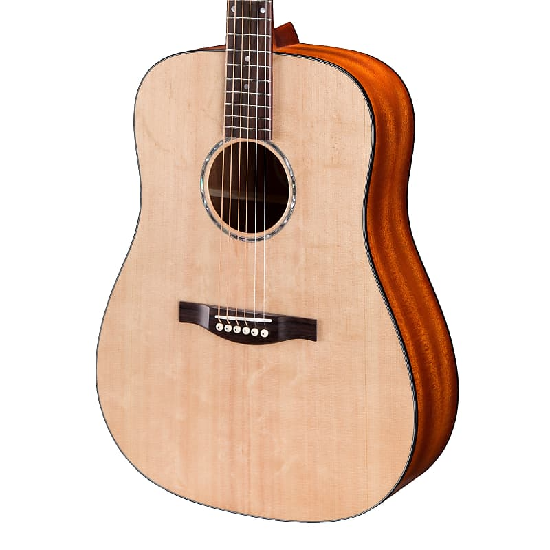 Eastman PCH1-D Solid Top Dreadnought Acoustic Guitar Natural