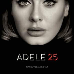 Hal Leonard Adele: 25 Songbook (Piano, Vocal, Guitar)