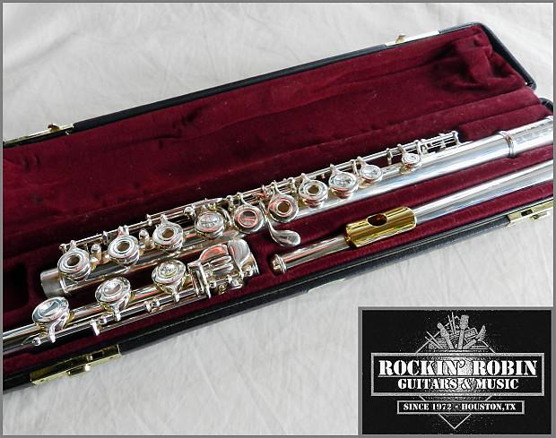 Gold Lip Plate Flute Yamaha