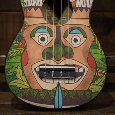 Ortega K2-TM Keiki Soprano Ukulele Pack, Totem for sale