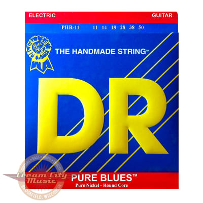 DR PHR11 Pure Blues Electric Guitar Strings .011-.050