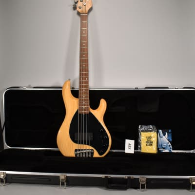 Late 90s Ernie Ball Music Man Stingray 5 Natural w/ OHSC