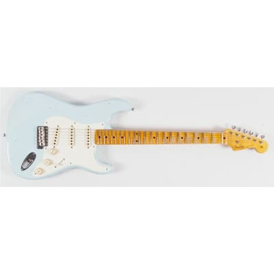 Fender Stratocaster Custom Shop 55 Journeyman Relic Sonic Blue Maple Second Hand for sale