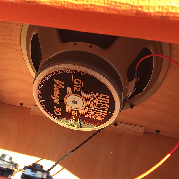Orange Ppc112 1x12 60 Watt Guitar Speaker Cabinet Orange Reverb