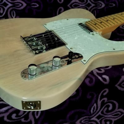 Harley Benton  Telecaster TL Solid Ash Body 2018 Mary Kaye Finish for sale