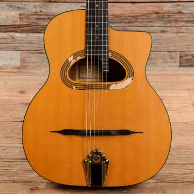 Gitane Cigano GJ-15 Grande Bouche Gypsy Jazz Guitar Natural for sale
