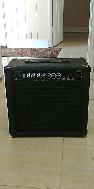 monoprice 40 watt 1x10 guitar combo amplifier with spring reverb. Black Bedroom Furniture Sets. Home Design Ideas