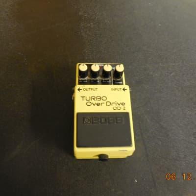 Boss OD-2 Turbo OverDrive (Black Label)