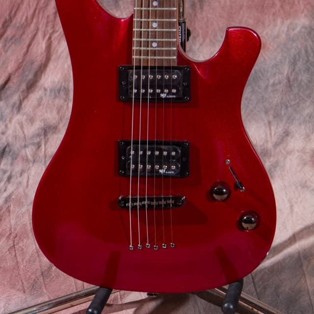 Schecter 006 2015 Mettalic Red 50% off at check out Blow out sale image