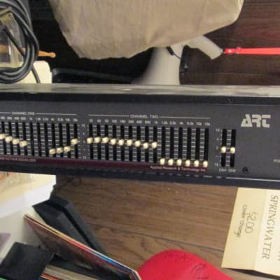 ART duel 15 band EQ model 171 Equalizer circa 1980s sold as seen as is for sale