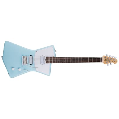 Sterling by Music Man St. Vincent STV60HH Electric Guitar, Dapne Blue