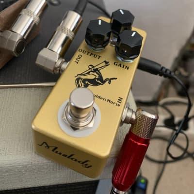 Mosky Audio Golden Horse Tumnus Klone Overdrive Mini Guitar Effect Pedal Free Shipping