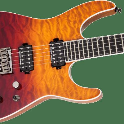 NEW! Jackson Pro Series Soloist SL2Q HT MAH Ebony Board Desert Sunset Sky - Authorized Dealer