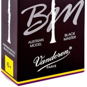 Vandoren CR188T Black Master Traditional Bb Clarinet Reeds - Strength 6+ (Box of 10)
