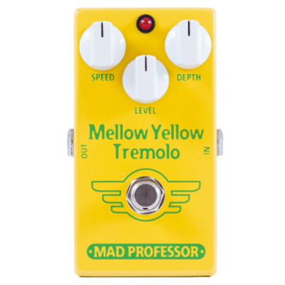 Mad Professor Mellow Yellow Tremolo Factory Made Effectpedal for sale