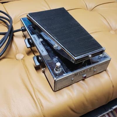 Morley Power Wah Fuzz PWF Silver 1970s. Great Condition.