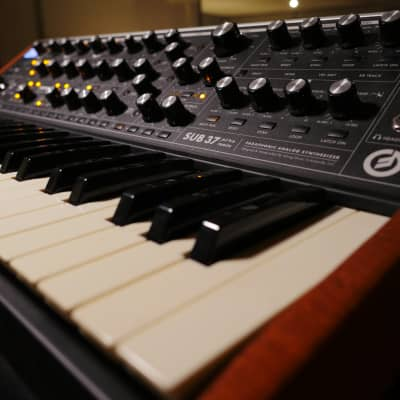 Moog Sub 37 Tribute Edition with Gig Bag, BOSTON