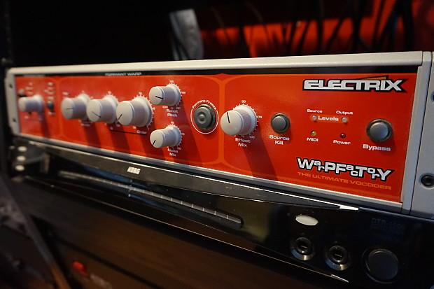 Electrix Warp Factory - Vocoder   Frank's Gear Garage