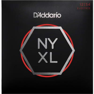 D'Addario NYXL1254 Heavy Nickel Wound Electric Guitar Strings - 12-54 Gauge