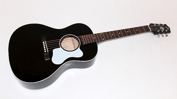 the loar l0 16 bk black acoustic guitar w case reverb. Black Bedroom Furniture Sets. Home Design Ideas