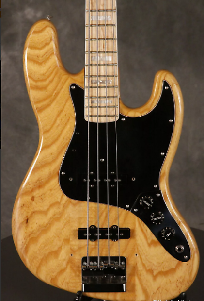 fender jazz bass 1978 natural amazing wood grain seymour reverb. Black Bedroom Furniture Sets. Home Design Ideas