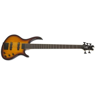 Epiphone Tobias Toby Deluxe-V Bass, Gloss, Vintage Sunburst for sale