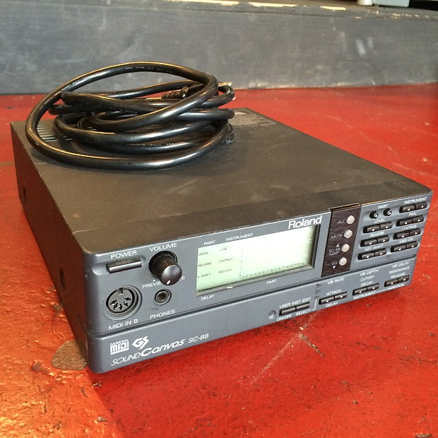 Roland SC-88 MIDI Synthesizer Sound Module | Fondren Guitars