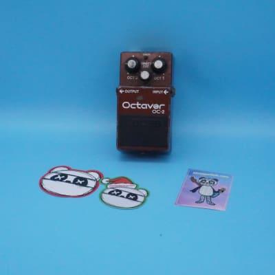 "Boss OC-2 Octaver | Rare First Year ""Octaver""  (Black Label) MIJ | Fast Shipping!"